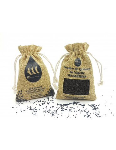 "Black Seed Powder ""Habachia"" From Ethiopia Grade A Purity 99% certified"
