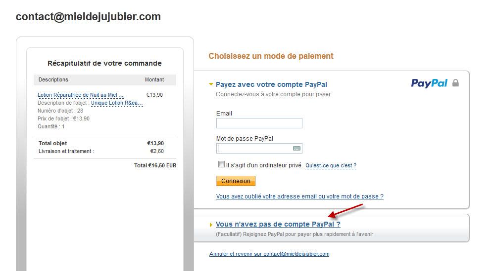 Paypal et Carte Bancaire P1